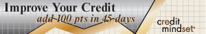 Improve your credit - add 100 points in 45 days
