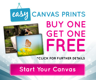 Easy Canvas Prints Buy One Get One Free