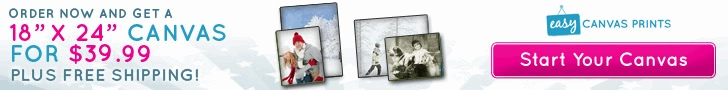 Gallery Canvas Prints 18x24 for $39.99