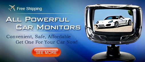 All powerful car monitors+FREE shipping@autoyet.com