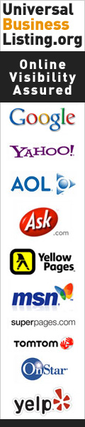 List Once, Be Found Everywhere.Business Profile Syndication from www.UBL.org.