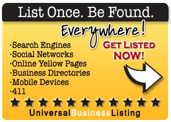 List Once, Be Found Everywhere…Business Profile Syndication from www.UBL.org.