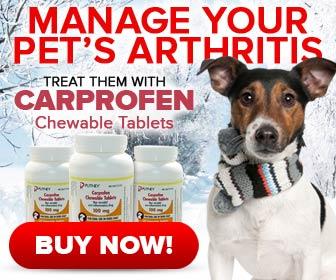 Carprofen Chewable Tablets