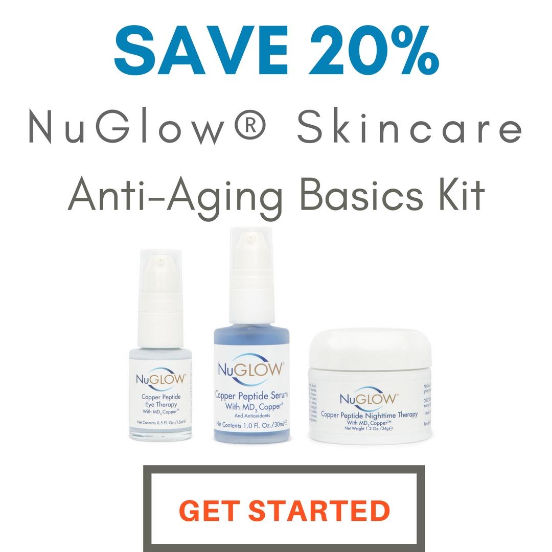 20% OFF 3-Piece Anti-Aging Basics Kit Skincare