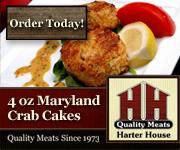4 Oz. Maryland Crab Cakes