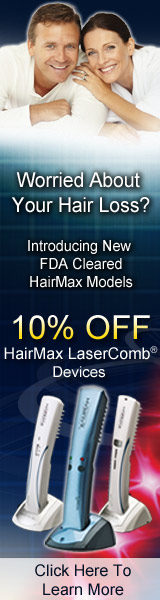 Take 10% Off New HairMax Models Now!