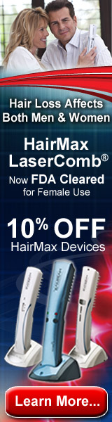 HairMax: FDA Cleared For Males and Females