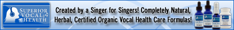 singer vocal spray