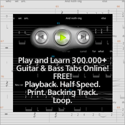 Play and learn 300 000+ tabs online