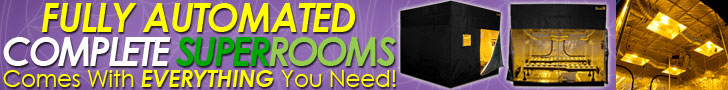 SuperCloset SuperRooms are the most complete and prestigious grow room kits available
