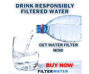 Drink Responsibly, Filter Water Now