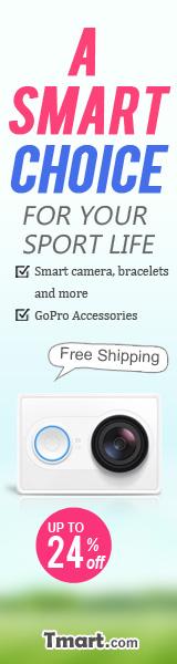 Smart Camera, Bracelets & More @Tmart.com