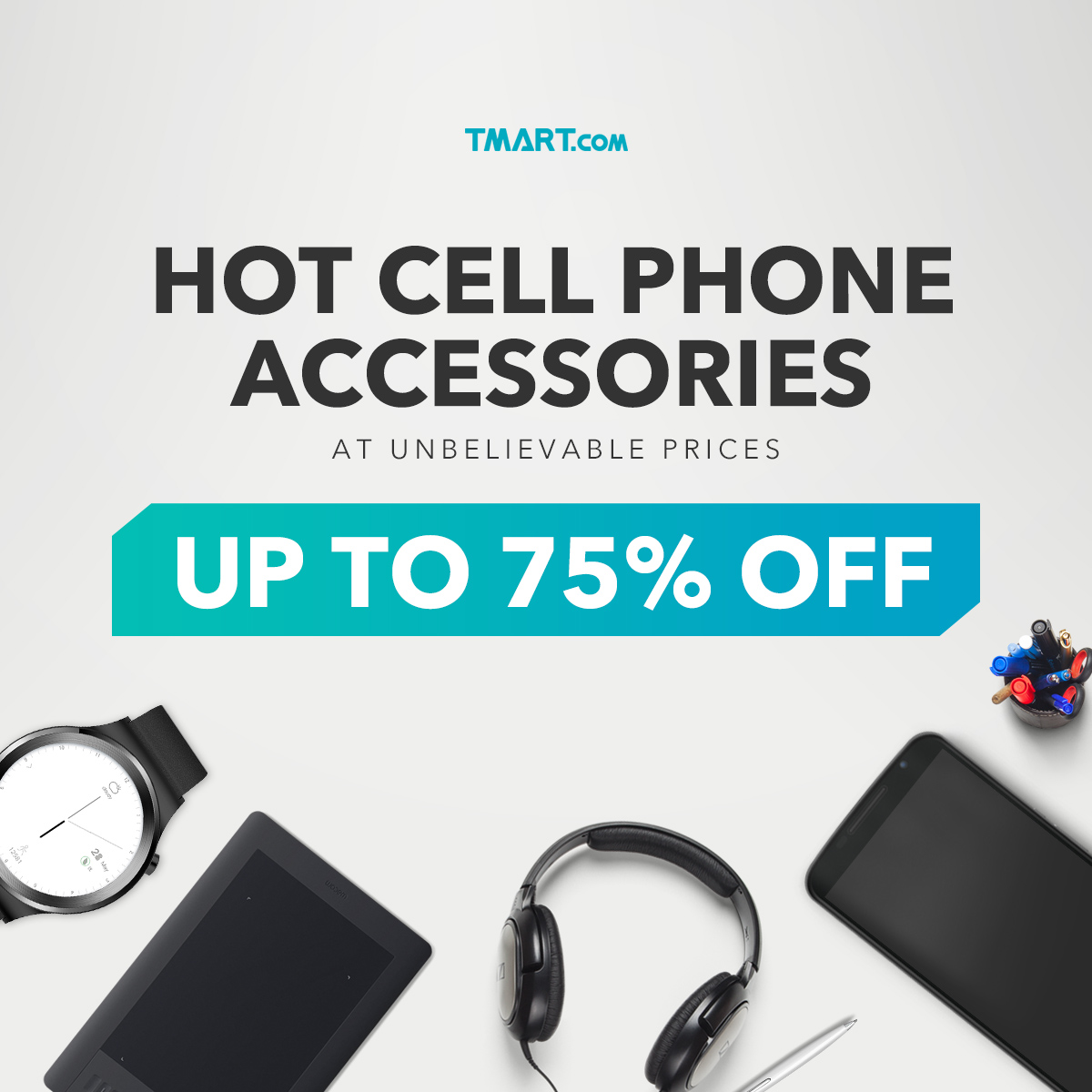 Hot Cell Phone Accessories Sale-Up To 75% OFF