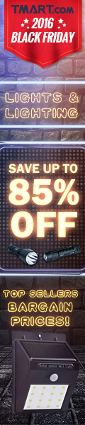 Black Friday Sale - UP to 85% off on Lights