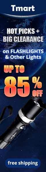 HOT Flashlights Promotion - UP to 85% off