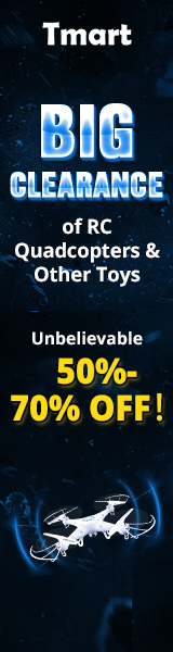 RC Quadcopters & Other Toys Clearance