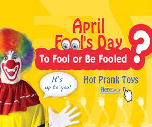 April Fool's Day Sale