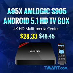 TV Box Sale - $28.33 on A95X HD TV Box