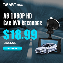 $18.99 for A8 1080P HD Car DVD Recorder