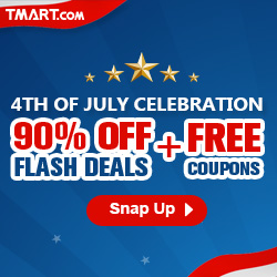 2016 Independence Day Sale - 90% off Deal & 5% off Coupon