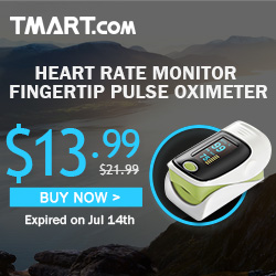 "ONLY $13.99 on 1.1"" OLED Screen Heart Rate Monitor Fingertip Pulse Oximeter"