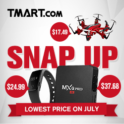 July Snap Up, Huge Discount & More