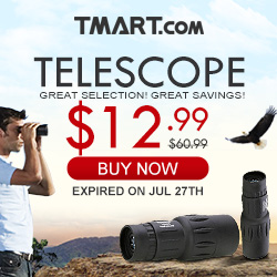 Outdoor Gear Sale - $12.99 Adjustment Telescope & More