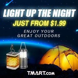 Lighting Sale @Tmart-Low To $1.99