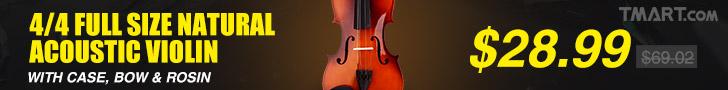 2017 Acoustic Violin Sale@Tmart