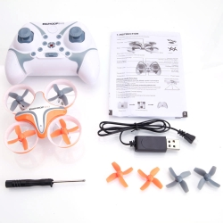 Hot Item Sale - BoldClash BWHOOP B-03 Altitude Hold 716 Motor EDF RC Quadcopter 260mAh 3.7V Orange