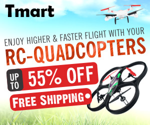 RC Quadcopters Sale - Up to 55% off