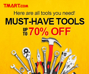 Must-Have Tools - Up to 70% off