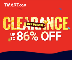 April Big Clearance - Save up to 86% OFF
