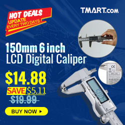Hot Deals - $14.88 for 150mm 6inch LCD Digital Caliper