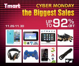 Tmart Cyber Monday Promotion