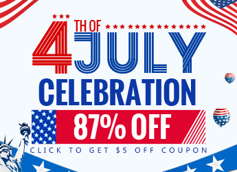 July 4th Celebration - 87% OFF, From July 5th to July 9th