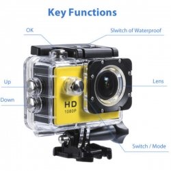 Up to 81% OFF - 720P 30M Waterproof Sport Camera HD DVR Video Action Camera