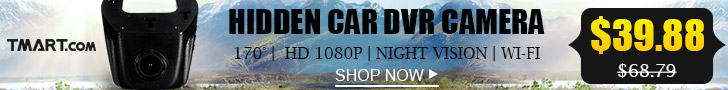Website Up to 70% OFF - $39.88 for 1080P Hidden Car DVR Camera