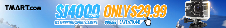 $29.99 on SJ4000 Sport Camera & More