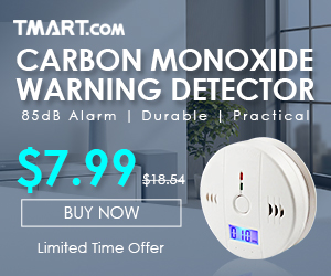 More Hot Items - $7.99 for LCD Carbon Monoxide Alarm