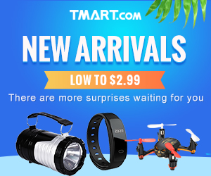 Weekly New Arrival @Tmart.com