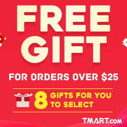 Free Gift for Orders over $25 - 8 Gifts for Option