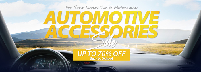 Automotive Accessories Sale-Up To 70%                             OFF