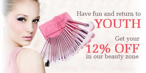 12% OFF in Our Beauty Zone - Makeup Brushes