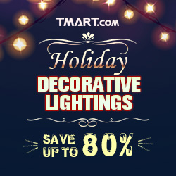 Holiday Decorative Lightings Sale-Up To 80% OFF