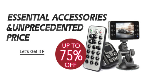 Auto Accessories Sale - Up to 75% off