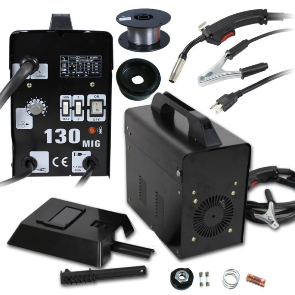 $10 Coupon WELD0412 for MIG-130 PVC Welding Machine @Tmart (Two Colors for Option)