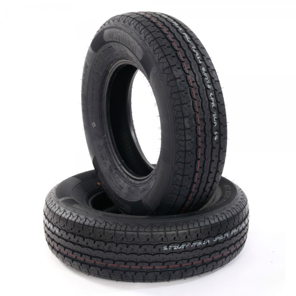 $10 Coupon TIRE0412 for 2pcs STR II  Replacement Rubber Tire @Tmart