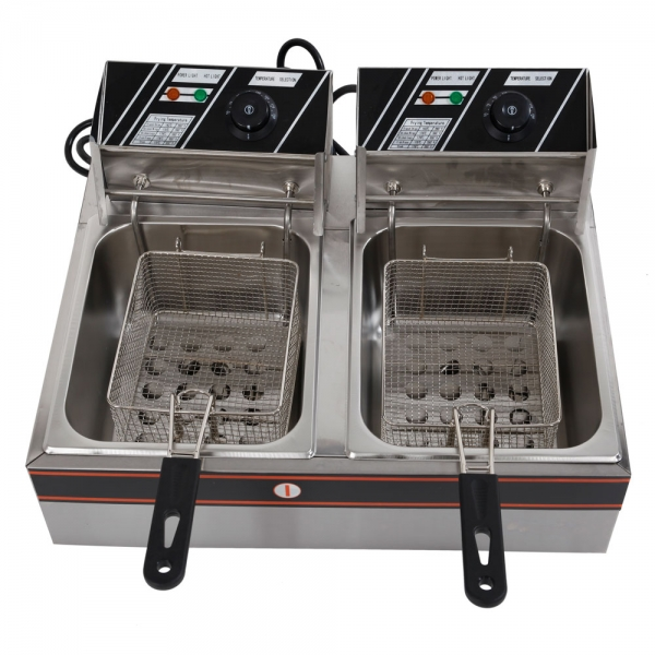 $83.99 for LS-82 5KW 60Hz Parallel Bars Electric Fryer @Tmart