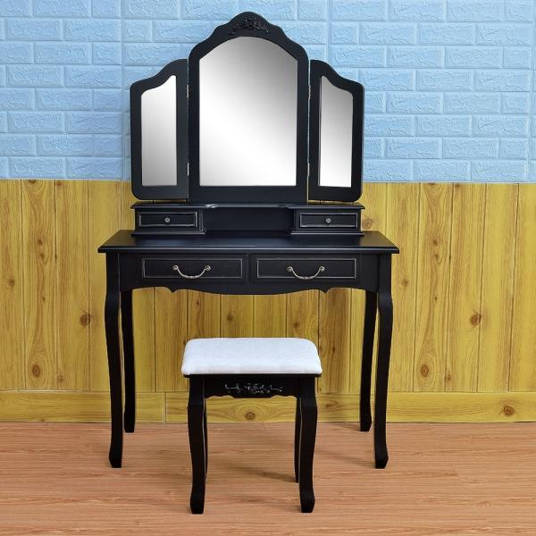 $19 Coupon DRESS0411 for Tri-fold Mirror Dresser @Tmart